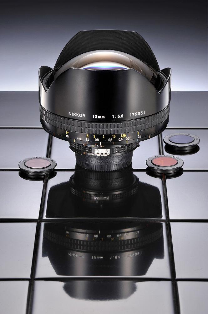 The extremely rare 13mm f/5.6 Nikkor lens